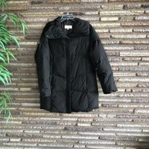 Calvin Klein Brown Quilted Down Puffer Jacket